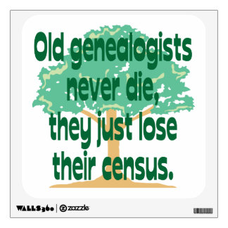 Genealogists Lose Their Census Wall Decor