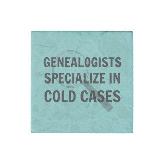Genealogists Magnet (Blue) Stone Magnet