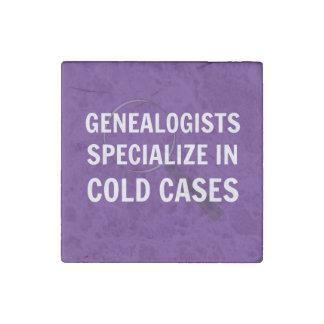 Genealogists Magnet (Purple) Stone Magnet