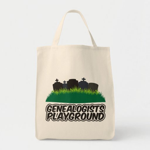Genealogists Playground Grocery Tote Bag
