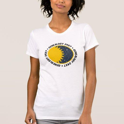 Genealogy 24x7 shirts