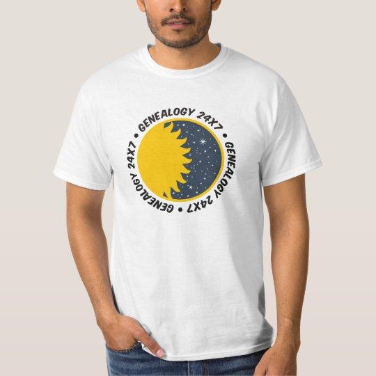 Genealogy 24x7 T-Shirt