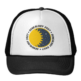 Genealogy 24x7 trucker hat