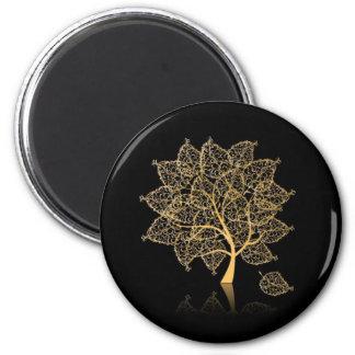 Genealogy 2 Inch Round Magnet