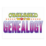 Genealogy 2 Obsessed Postcard