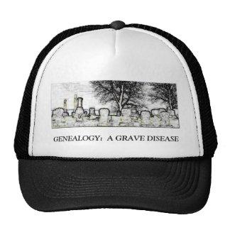 GENEALOGY:  A GRAVE DISEASE TRUCKER HAT