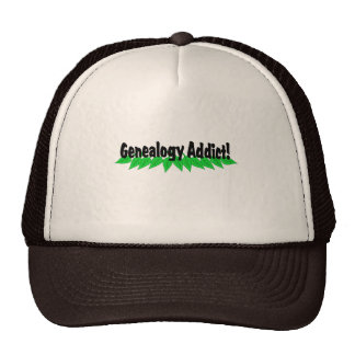 Genealogy Addict Hats