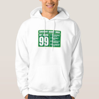 Genealogy Addict Index Hooded Sweatshirts