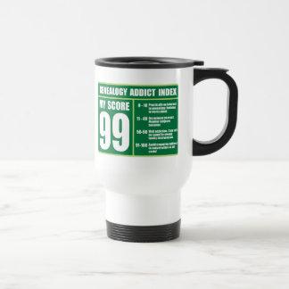Genealogy Addict Index Travel Mug
