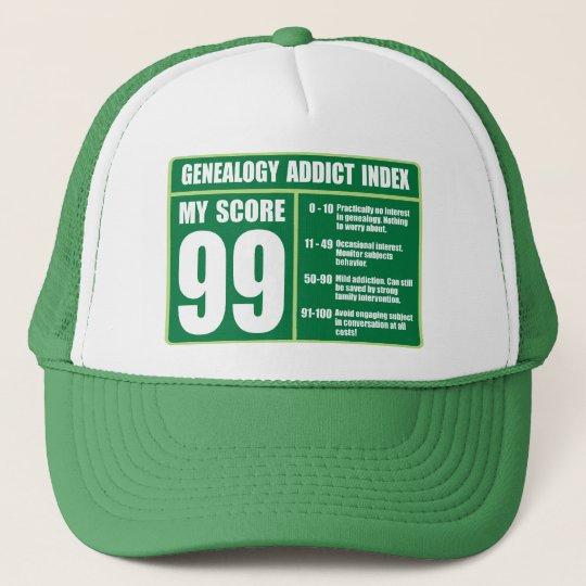 Genealogy Addict Index Trucker Hat