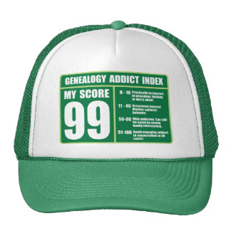 Genealogy Addict Index Trucker Hat