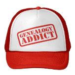Genealogy Addict Mesh Hats