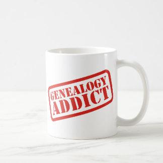 Genealogy Addict Classic White Coffee Mug