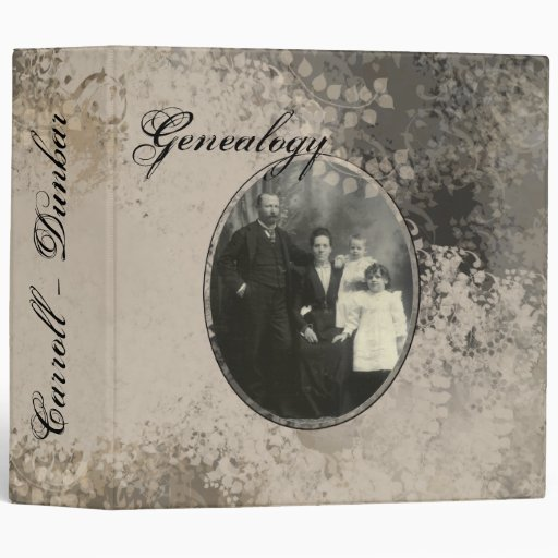 Genealogy Album 3 Ring Binders