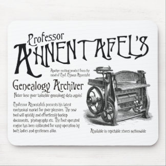 Genealogy Archiver Mouse Pad