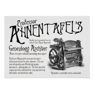 Genealogy Archiver Posters