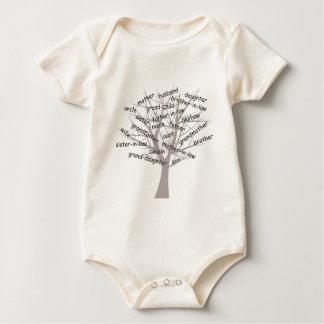 Genealogy Baby Bodysuit