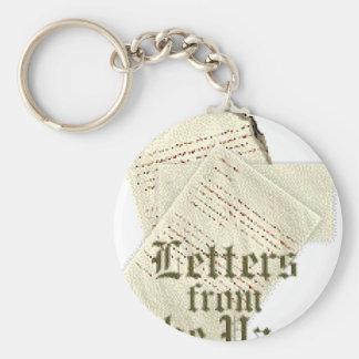 Genealogy Basic Round Button Keychain