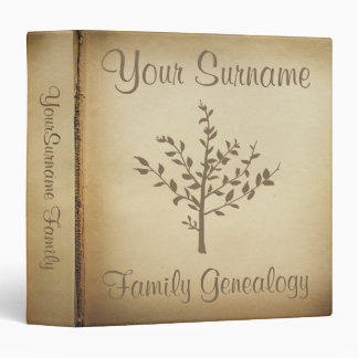 Genealogy binders