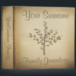 """Genealogy binders<br><div class=""""desc"""">Antique looking paper parchment family tree genealogy keepers.</div>"""