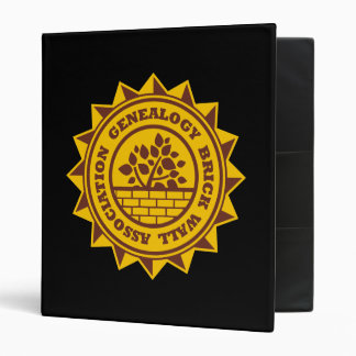 Genealogy Brick Wall Association Binder