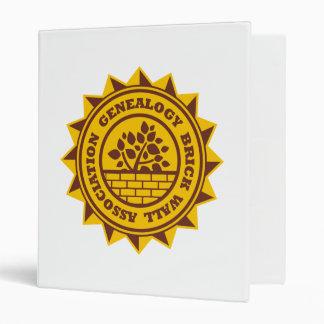 Genealogy Brick Wall Association Binders
