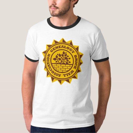 Genealogy Brick Wall Association T-Shirt