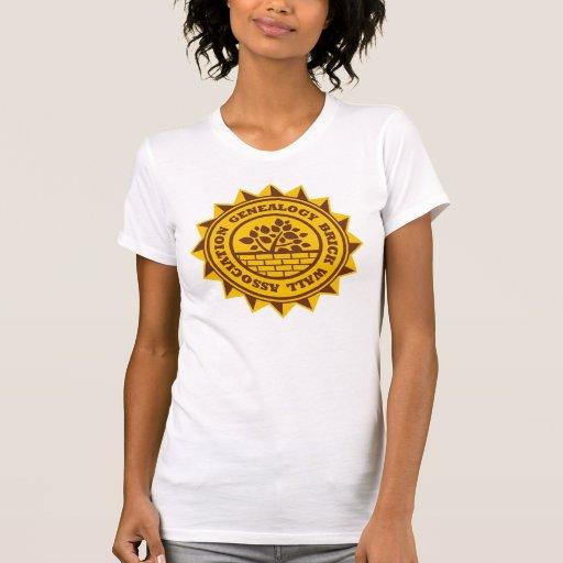 Genealogy Brick Wall Association T-shirts
