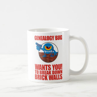 Genealogy Bug Breaks Walls Mug