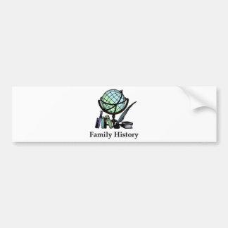 Genealogy Bumper Sticker