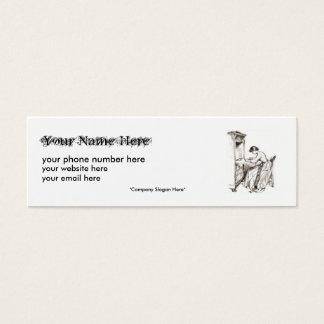 Genealogy Business Card,... Mini Business Card
