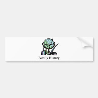 Genealogy Car Bumper Sticker