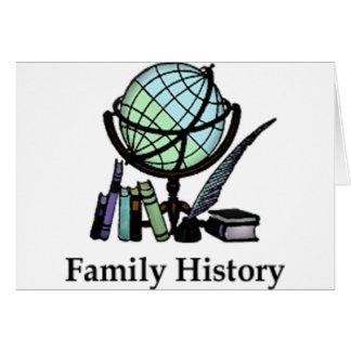 Genealogy Card