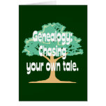 Genealogy: Chasing Your Own Tale Card