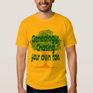 Genealogy: Chasing Your Own Tale T Shirt