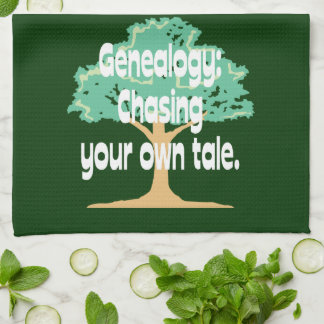 Genealogy: Chasing Your Own Tale Towel