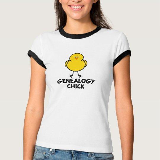 Genealogy Chick T-Shirt