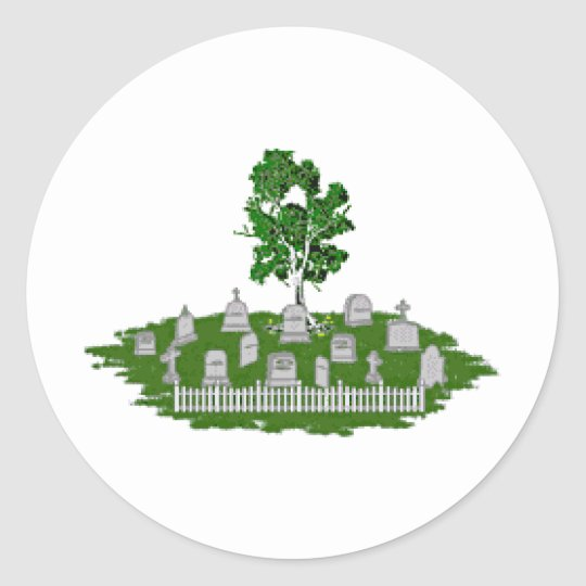 Genealogy Classic Round Sticker