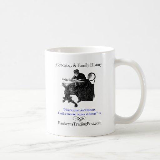 Genealogy Cup of Inspiration 1 Basic White Mug