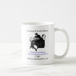 Genealogy Cup of Inspiration 1 Classic White Coffee Mug