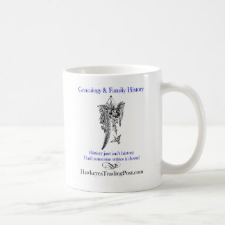 Genealogy Cup of Inspiration 5 Classic White Coffee Mug