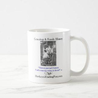 Genealogy Cup of Inspiration 6 Classic White Coffee Mug