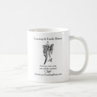 Genealogy Cup of Inspiration 8 Classic White Coffee Mug
