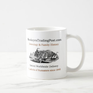 Genealogy Cup of Inspiration 9 Classic White Coffee Mug