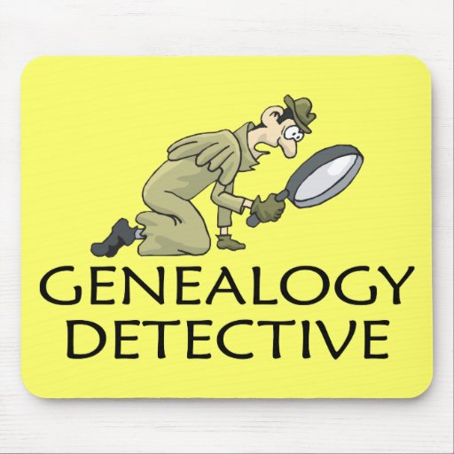 Genealogy Detective Mousepad