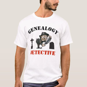 Genealogy Detective T-Shirt