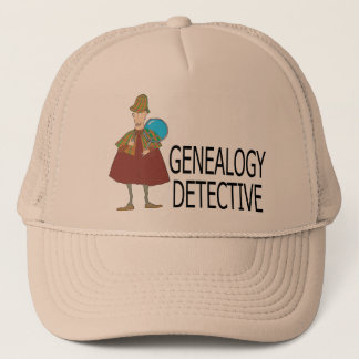 Genealogy Detective Trucker Hat