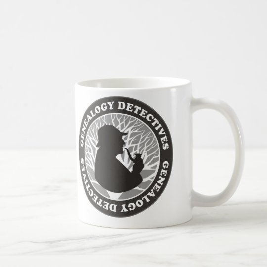 Genealogy Detectives Coffee Mug