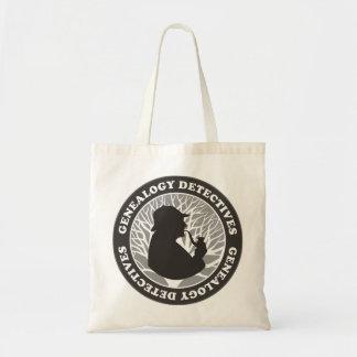 Genealogy Detectives Tote Bag