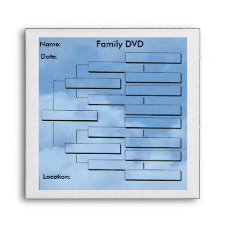 Genealogy DVD Envelopes